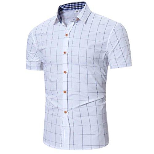 Preisvergleich Produktbild Malloom® Herren Sommer T-Shirt modernes Sweatshirt Crew Neck Stehkragen Kurzarm Longsleeve Basic Shirt Freizeit Hemd