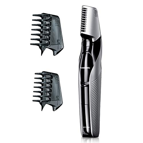 Panasonic Electric Body Groomer and Trimmer for Men ER-GK60-S, Cordless, Showerproof with 3 Comb Attachments - Amazon $30