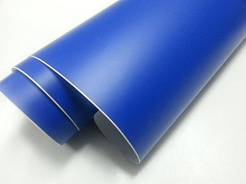 Vinilo azul oscuro mate, alta calidad, para interior y exterior. Medida a elegir: 60x100cm, 60x150cm, 60x200cm, 60x300cm