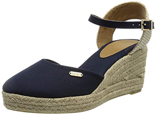 ESPRIT Espadrilles-Sandale mit Keilabsatz