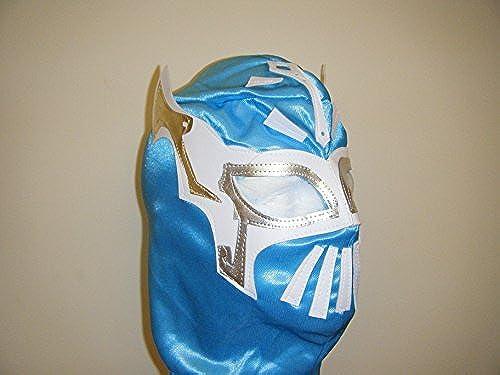 WRESTLING MASKS UK Himmelblau Mexikanische Hergestellt Slipper Mask