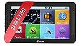 Elebest Mobile Navigationsgerät Auto - 7 Zoll HD Display, Freisprecheinrichtung, lebengslanges...