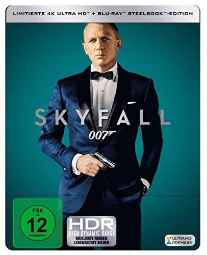 James Bond: SKYFALL ( 4K UHD + Blu-ray ) Limited Edition