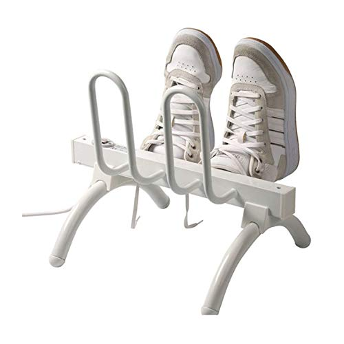CFJDX Shoe Drying Rack Electric, Freestanding Shoe Warmer Dryer, Foot Warmers Deodorant Dehumidifying Device for Shoes Gloves Hats Socks Boots EU plug