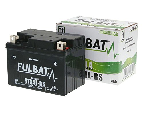 Batterie FULBAT Gel High Power YTX4L-BS SLA für BOMBARDIER QUAD DS, Quest 50 02-03[ inkl.7.50 EUR Batteriepfand ]