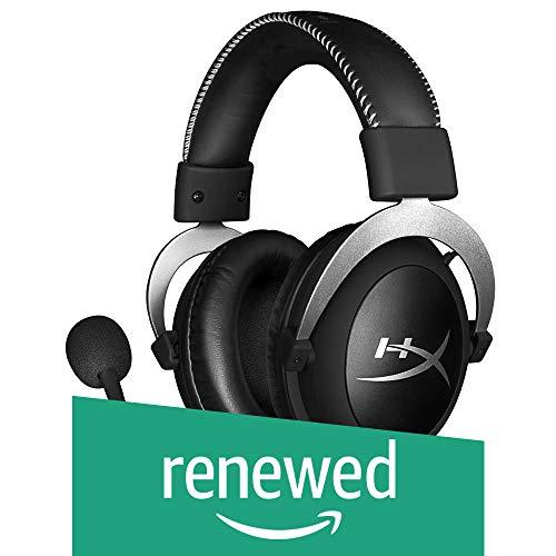 HyperX Cloud Pro Gaming Headset mit In-Line Audio Control für PS4, Xbox One und PC (HX-HSCL-SR/NA) silberfarben (Generalüberholt)