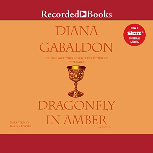 Dragonfly in Amber                   By:                                                                                                                                 Diana Gabaldon                               Narrated by:                                                                                                                                 Davina Porter                      Length: 38 hrs and 54 mins     33,599 ratings     Overall 4.7
