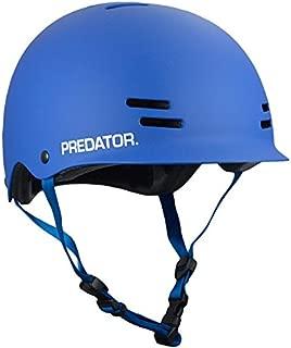 Predator FR7 Certified Skateboard Helmet - Half-Shell Safety Helmet with EPS Foam Liner & Fit Kit