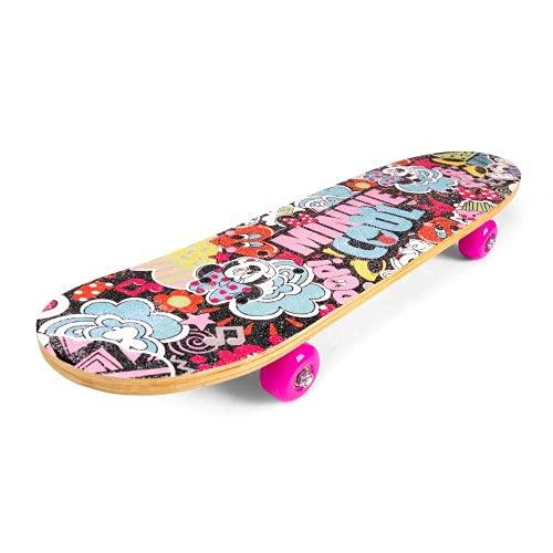 Skateboard Deck Funboard Holzboard 61cm Holz Minnie Mouse Disney