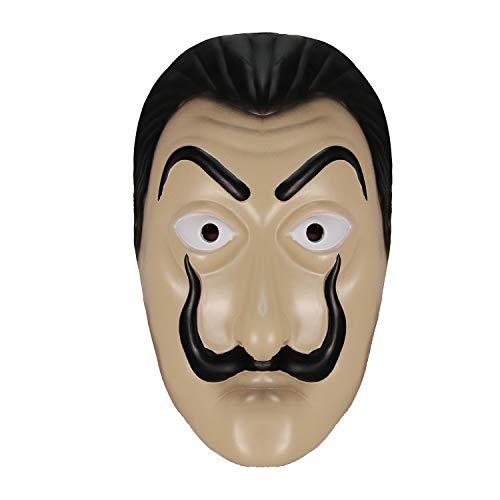 molezu Máscara de látex de Dali, Fiesta de Disfraces de