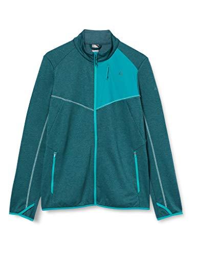 Schöffel Damen Fleece Jacket Houston1 Fleecejacke, Mallard Green, 40