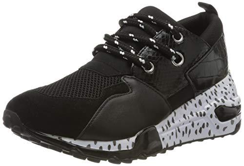 Steve Madden Cliff Sneaker, Zapatillas Mujer, Multicolor Black Multi 010, 39 EU