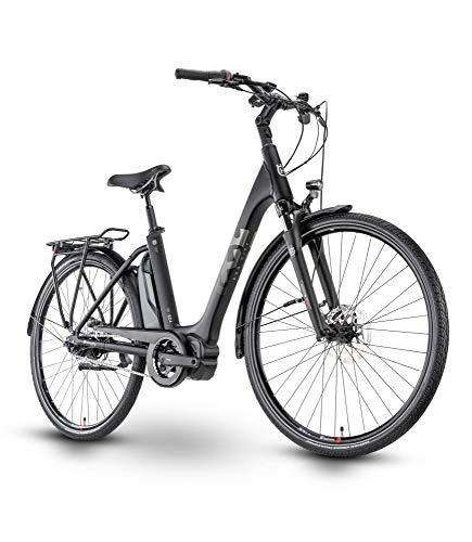 Husqvarna Eco City EC4 CB Wave Unisex Pedelec E-Bike City Fahrrad schwarz 2021: Größe: 48 cm