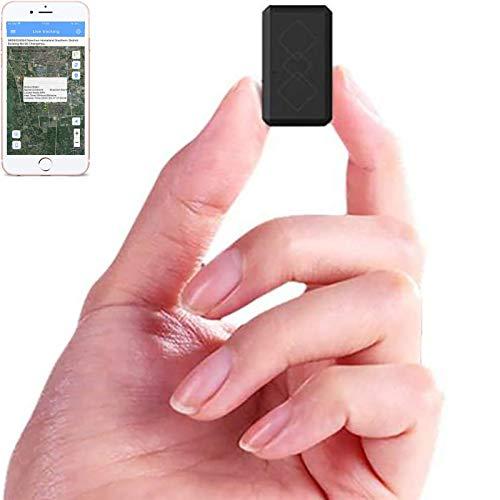 Dlovey Mini GPS Tracker, GPS Tracker Mit Starkem Magnet Geo-Zaun-Alarm Gegen Diebstahl Echtzeit-GPS-Tracking Für Kinder Seniorenautos