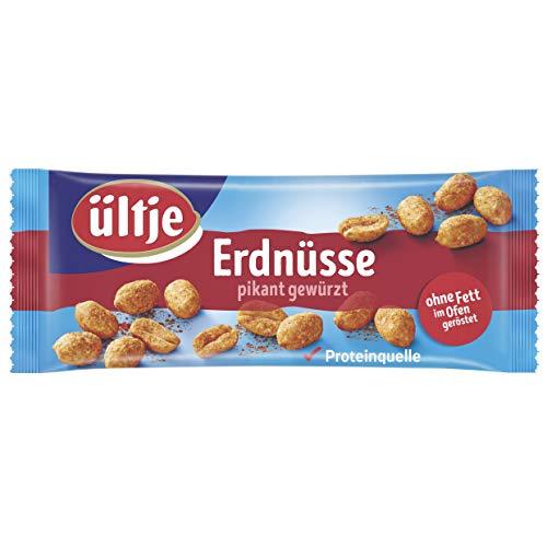 ültje Erdnüsse Riegelbeutel, pikant gewürzt, ohne Fett geröstet 50g