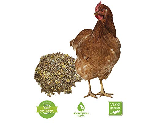 Hühnerfutter als Legehennenfutter gegen Milben 25 kg, grob geschroten - 2