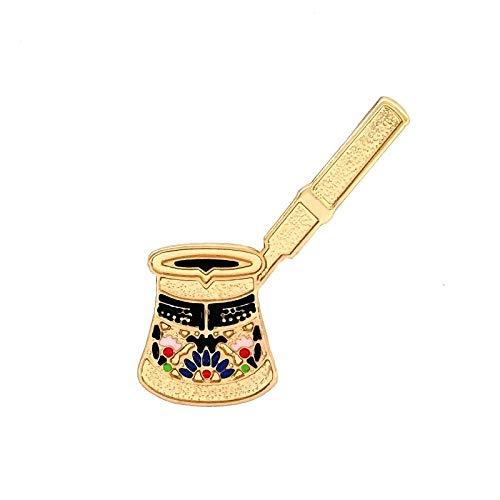 BroscheVintage Palace türkische Kaffeekanne Brosche Pin Button Pins Frauen Kleidung Dekoration Mode Schmuck Geschenk]],null,en]]]