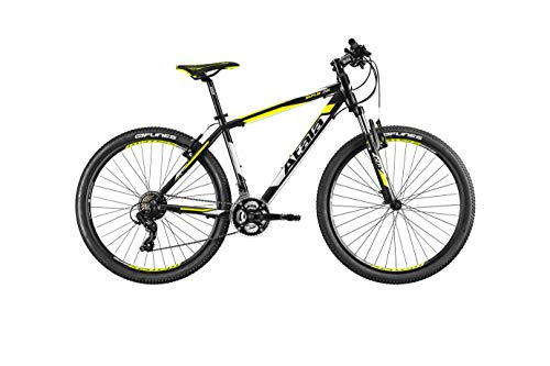 Atala Mountain Bike Modello 2020 Replay STEF VB 21V Nero/Giallo S 16' (Fino a 165cm)