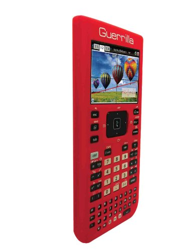 Guerrilla Silicone Case for Texas Instruments TI Nspire CX/CX CAS Graphing Calculator, Red Photo #4