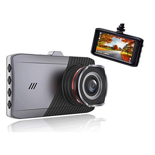 Cámara de Tablero Coche Dash CAM DVR DVR Drive Video Recorder para vehículo Auto Full HD 1080p Dashboard Registrador Black Box Dual Dashcam (Color Name : with Rearview Camera, SD Card Memory : 32G)
