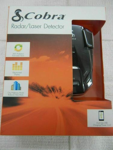 Cobra ESR 755 Radar/Laser Detector 360 Degree Protection
