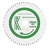 7103 <span class='highlight'>Key</span> <span class='highlight'>Blades</span> and Fixings 305mm x 30mm x 3.0mm 96T mitre Saw bladeTeflon Coated Professional Quality Saw Blade Best for Quality and Price