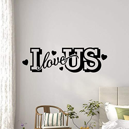 yaonuli Ich Liebe Amerikaans kinderkamer zelfklevend vinylbehang kleuterschool kamerdecoratie wandsticker waterdicht behang