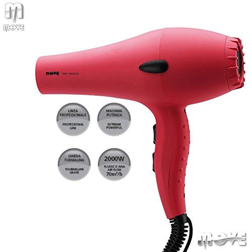 Asciugacapelli professionale AIR 9000 PINK (rosa)