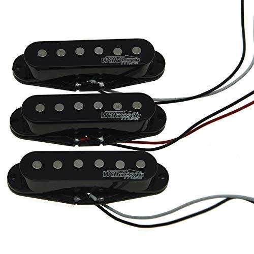 Wilkinson LIC Black ST Strat Vintage Voice Single Coil Pickups Fits Stratocaster