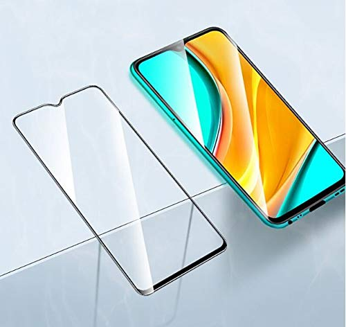 MagicDeal Full Coverage 6D/11D Tempered Glass for Redmi 9A 6D Curved Screen Guard Protector for Redmi 9A (Pack of 2)