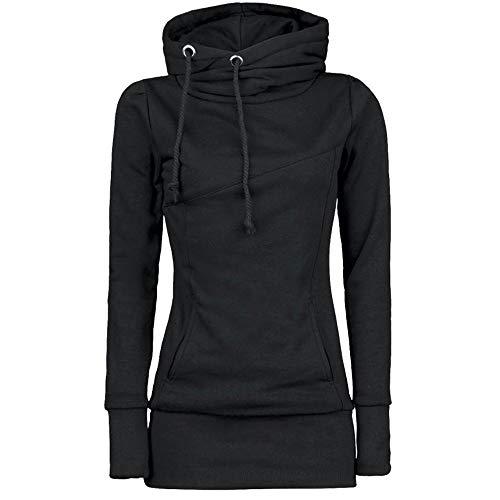 Pullover Damen, Kimodo Lang Kapuzenpullover Kapuzenjacke Hoodie Bluse