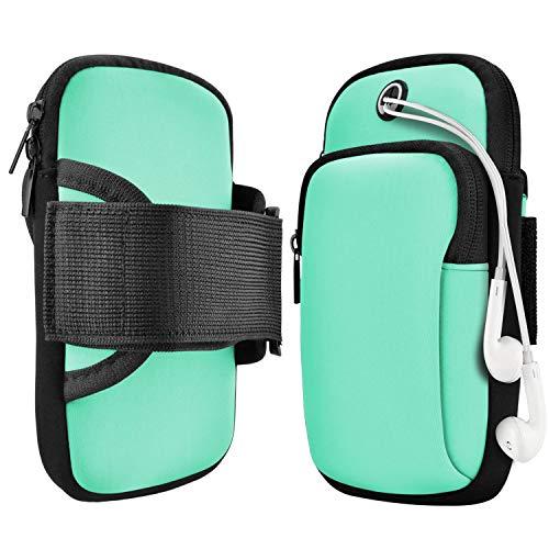 Funda para brazo para teléfono móvil, para correr, para smartphone o correr, para teléfonos móviles de hasta 7 pulgadas, colores primaverales (2021)