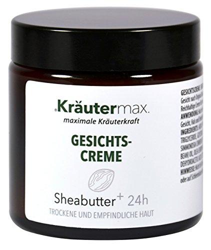 Kräutermax Crema facial de manteca de karité 1 x 100 ml piel seca