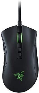 Razer DeathAdder V2 Ergonomic Wired Gaming Mouse, Black, RZ01-03210100-R3M1