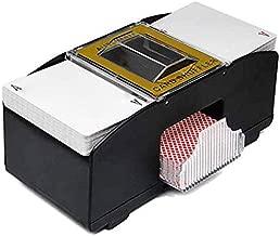 MONISE 1 Deck 2 Deck Casino Automatic Card Shufflers, Battery Operated Casino Shuffling Machine Casino for Poker Games