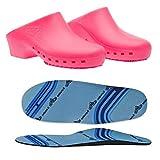 Zuecos sanitarios calzado Classic S sin agujeros con plantilla profesional...