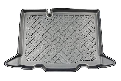 MTM Tapis de Coffre pour Dacia Sandero III/Sandero Stepway 2021- sur Mesure, Bac de Protection Antiderapant, Utilisation*: plaussir Bas; sans Double Fond, cod. 9111