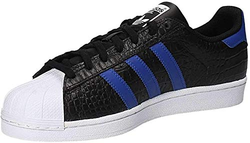 adidas Men's Superstar Competition Running Shoes Black Size: 5