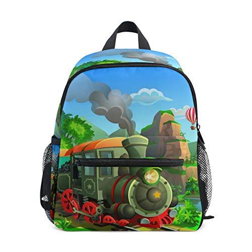 Funny Train School Bag