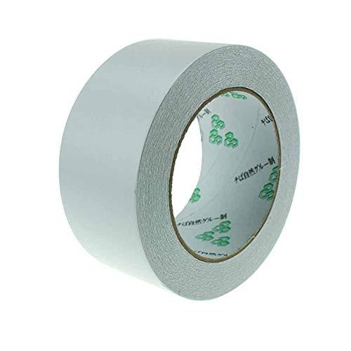 smileyshy Premium weiß doppelseitiges Klebeband – 50 m x 50 mm – Golf Grip Tape für Golfschläger Grip Installation, Golf Grip Strip Multifunktions Putter Tape