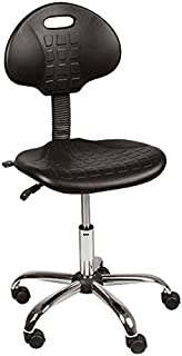 Norwood Commercial Furniture Industrial Polyurethane Drafting Stool with Tilt Control, NOR-IAH1040-SO