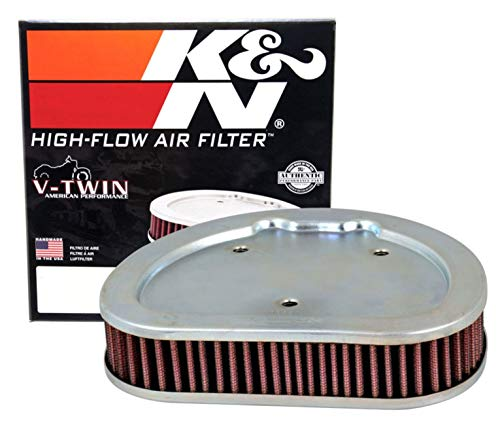 K&N Engine Air Filter: High Performance, Premium, Powersport Air Filter: 2008-2014 HARLEY DAVIDSON(FLTRX Road Glide Custom, FLHR Road King, FLHRC, FLHTC Electra Glide, and other select models) HD-1508