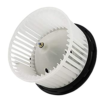 AC Blower Motor w/Fan Compatible with 700191 2003-2014 Silverado Suburban Tahoe Avalanche/GMC Sierra Yukon/Cadillac Escalade Replaces 75748 20760618 89019320 89019301