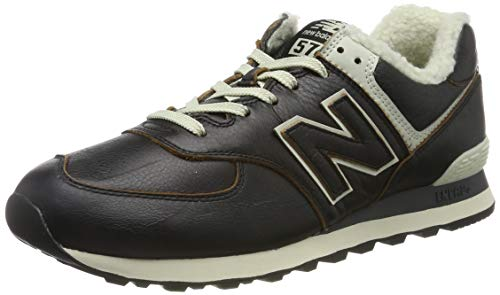 New Balance Herren 574v2 Sneaker, Schwarz (Black Black), 42 EU