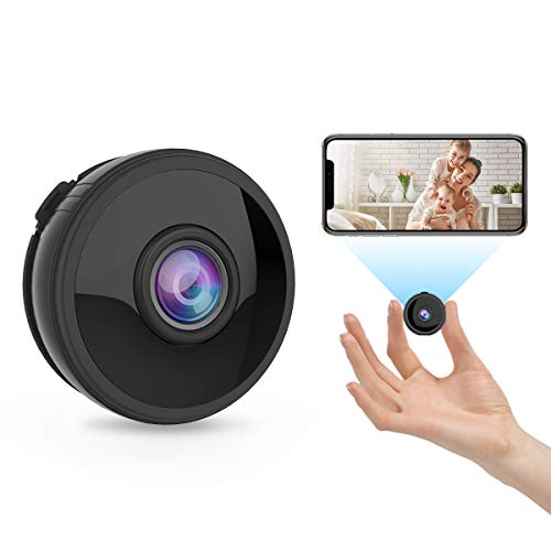 Mini Spy Camera, MINLUK 1080P HD Hidden Cameras, WiFi Wireless Home Smallest Security Surveillance Tiny Nanny Cam with Night Vision Motion Detection for Home/Indoor/Outdoor