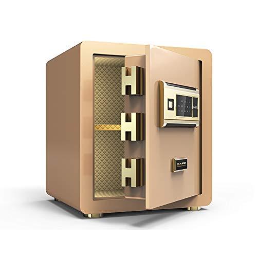 Pistol Veilig, Digital Safe, Muur of Kast Verankering Ontwerp Steel Brandkast Van Het Huis, Protect Geld, Sieraden, Paspoorten Office/Home Kluis,Gold