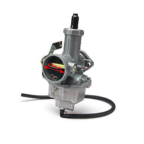 JFG RACING Cable Choke PZ30 30mm Carb Carburetor For Motorcycle 200CC 250CC Dirt Bike ATV Quad Taotao