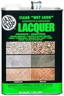 1 Gallon Wet Look Concrete & Masonry Lacquer