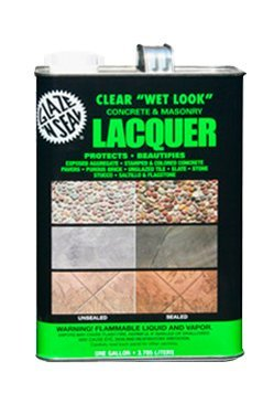 1 Gallon Wet Look Concrete & Masonry Lacquer