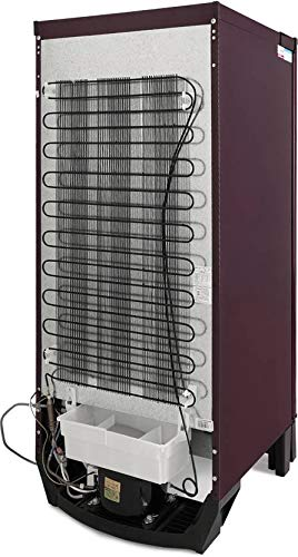 Godrej 190 L 3 Star Inverter Direct-Cool Single Door Refrigerator (RD EDGE 205C 33 TAI GL WN, Glass Wine)